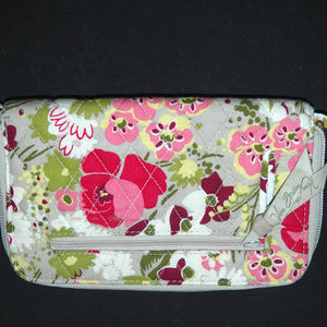 Vera Bradley Wristlet Wallet Card Sleeve Holder